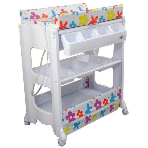 mueble bañera cambiador de bebe