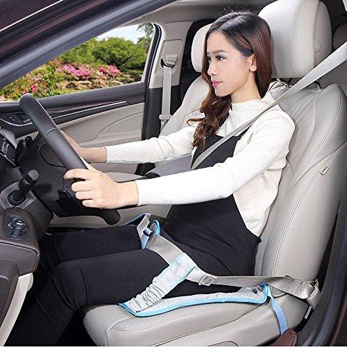 b42fb1f67 Es un cinturón par embarazas que se ajusta al asiento del coche. Ayuda a la  mujer a quitar la presión del cinturón en la barriga