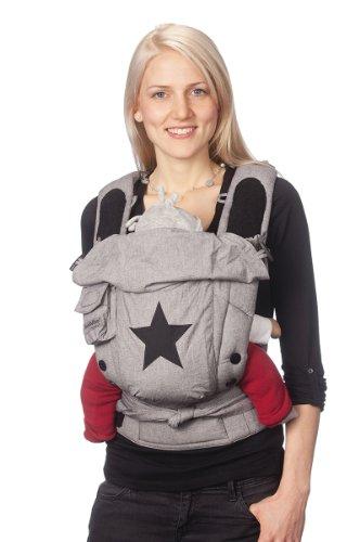 mochila portabebes ergonomica