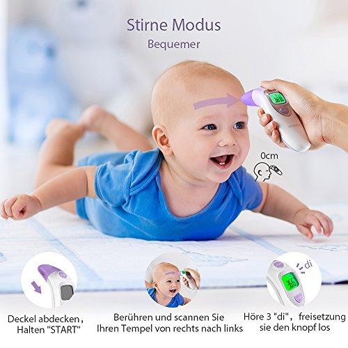 mejores termómetros infantiles