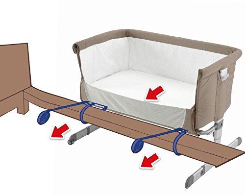 96679e42e4db Este modelo tiene un diseño cuya altura puede adaptarse a 6 niveles  diferentes, para ajustarla a la perfección al costado de cualquier cama ...
